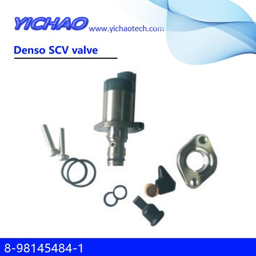 ISUZU NPR75/4JJ1/4JG1/4HK1/6HK1/700PFVR34,SANY 75/95,HITACHI,SUMITOMO,KOBELCO,CASE JCB excavator parts Denso SCV valve 8-98145484-1