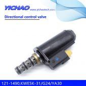CAT 320B/320C/E320C/E320D/E325B excavator parts Directional control valve 121-1490,KWE5K-31/G24/YA30