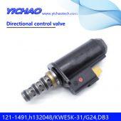 CAT 315C/320C/325C/330C/330D excavator parts Directional control valve 121-1491,h132048/KWE5K-31/G24,DB30