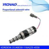 Wheeled excavator M330D/W345C-MH,excavator 330D/330D-FM/330D- L/330D-LN proportional solenoid valve KDRDE5K-31/40E30-116A225-4558