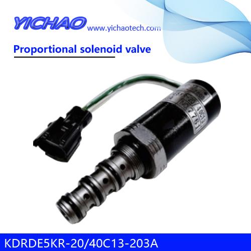 SUMITOMO SH200-5/350-5/240-3,KOBELCO SK60/100/200/210LC/250/120/220/300/230/200-3/240-3 excavator parts Proportional solenoid valve SKX5P-17-210,KDRDE5KR-20/40C13-203A