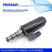 KOBELCO SK200-8/250/260-8/330/350-8 excavator parts Directional control valve YN35V00051F1,KWE5K-31/G24YB50