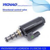 KOBELCO SK200-8/250/260-8/330/350-8 excavator parts Directional control valve YN35V00052F1,KDRDE5K-31/30C50-123