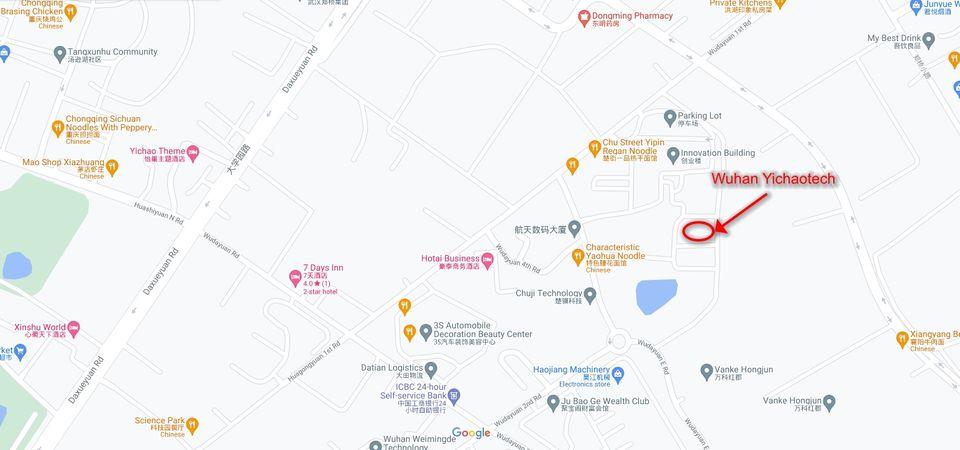Wuhan Yichaotech address