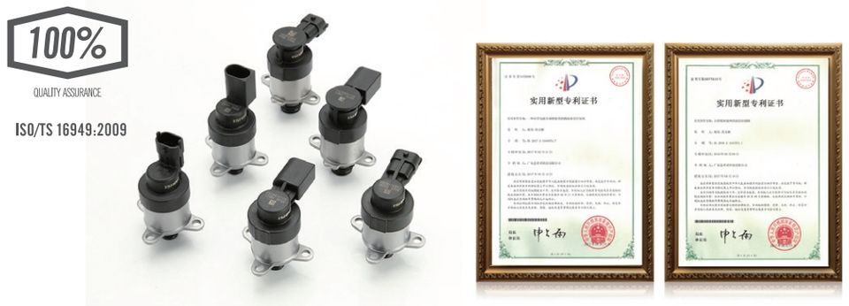 SCV IMV Diesel Engine Common Rail System High Pressure Fuel Inlet Metering Unit Suction Control Solenoid Valve quality assurance